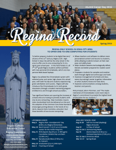 2016 Regina Record