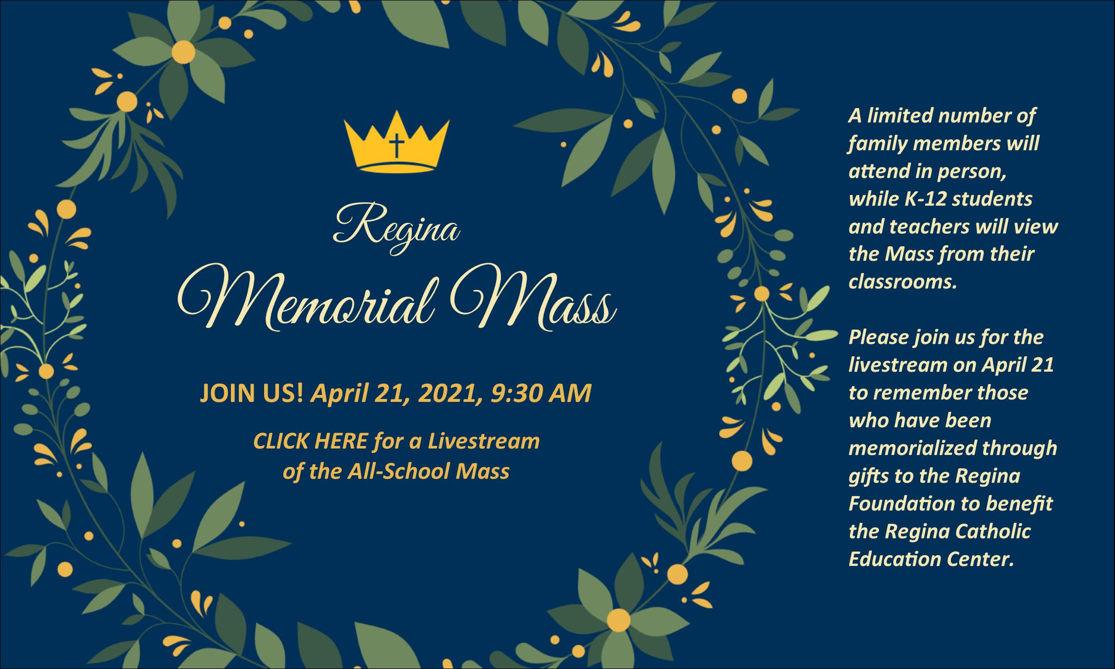 Memorial Mass 2021 slide 5
