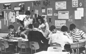 Regina classroom from 1973.